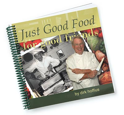Just Good Food for good friends cookbook